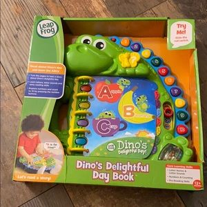 Leap Frog: Dino's delightful day book!